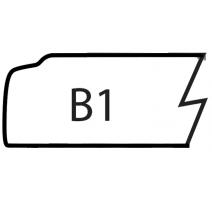 B1-SLAB MAPLE/RED OAK