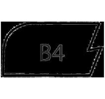 B4-SLAB MAPLE/RED OAK
