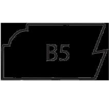 B5-SLAB MAPLE/RED OAK