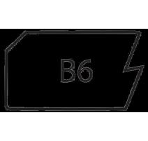 B6-SLAB MAPLE/RED OAK
