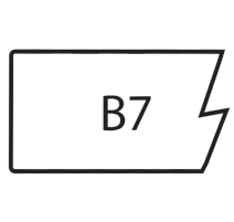 B7-SLAB MAPLE/RED OAK
