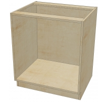 DR B 30 -3 Base Cabinet  3 Drawers (Open)