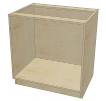 DR B 33 -3 Base Cabinet  3 Drawers (Open)