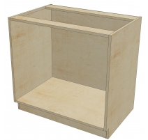 DR B 36 -3 Base Cabinet  3 Drawers (Open)