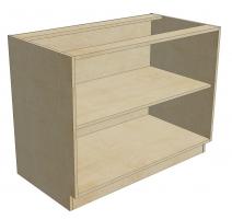 BCB 45 D1 DR1 Blind Cabinet Base 1 Door 1 Drawer (Open)