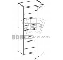 "W 6 42 12 D1 Wall Cabinet 42"" 1 Door (B7-R4-P6-SQ-3INCH)"