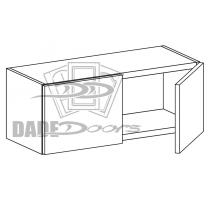 """W 36 12 12 D2 Wall Cabinet 12"""" 2 Doors (B7-R4-P6-SQ-3INCH)"""
